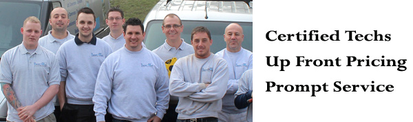 our Moosic, Pennsylvania  restoration team